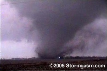 Gilbert, Iowa tornado caught by Jim Bishop on November 12, 2005 during the largest November tornado outbreak in Iowa history.